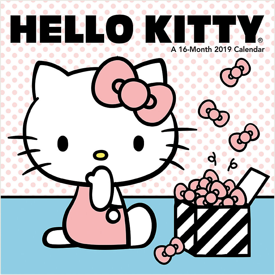 Hello Kitty Mini Wall Calendar Ddmn37 Day Dream