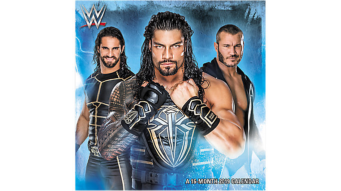 Day Dream WWE Mini Wall Calendar  (DDMN38)