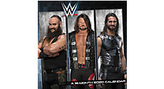 WWE 7x7 Mini Monthly Wall Calendar (Item # DDMN38)
