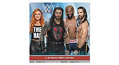 WWE 7x7 Mini Monthly Wall Calendar (Item # DDMN38)