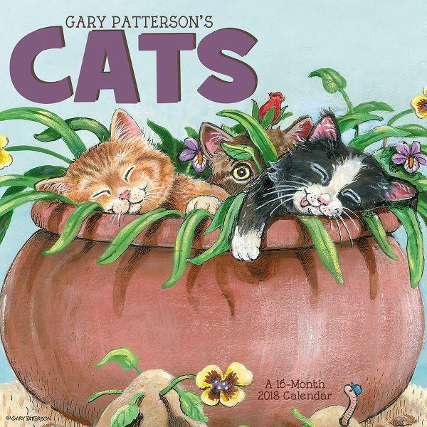 Day Dream Gary Pattersons Cats Mini Wall Calendar - Decorative Calendars DDMN432818