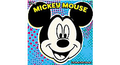 Disney Mickey Mouse 7x7 Mini Monthly Wall Calendar (Item # DDMN54)