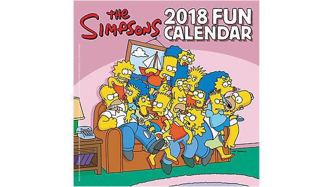 Day Dream The Simpsons Mini Wall Calendar  (DDMN60)