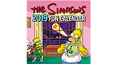 The Simpsons Mini Wall Calendar (Item # DDMN60)