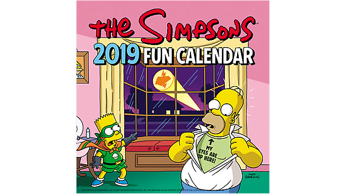 Day Dream The Simpsons Mini Wall Calendar  (DDMN60)