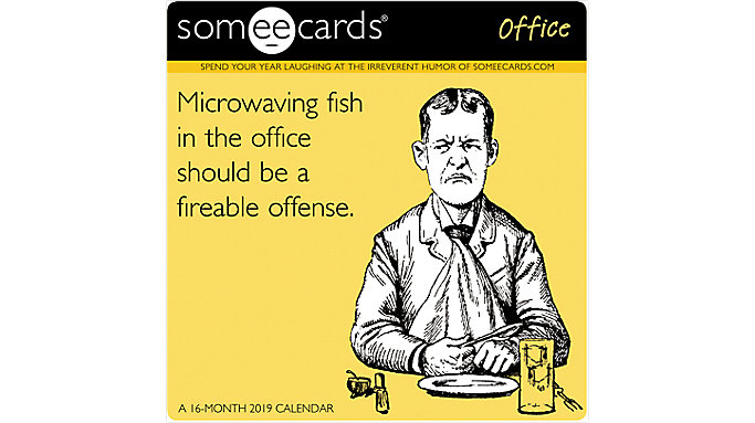 Day Dream Someecards-Office Mini Wall Calendar  (DDMN84)