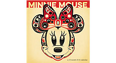 Minnie Mouse Mini Wall Calendar (Item # DDMN87)