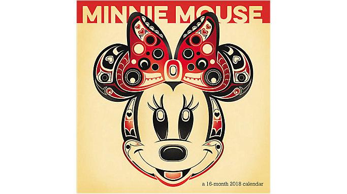 Day Dream Minnie Mouse Mini Wall Calendar  (DDMN87)