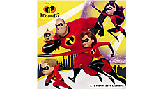 Disney Pixar Incredibles 2 Wall Calendar (Item # DDMN89)