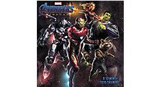 MARVELS Avengers Endgame 7x7 Mini Monthly Wall Calendar (Item # DDMN96)