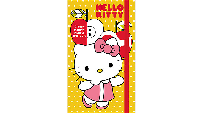 Day Dream Hello Kitty 2-Year Monthly Pocket Planner  (DDPP11)