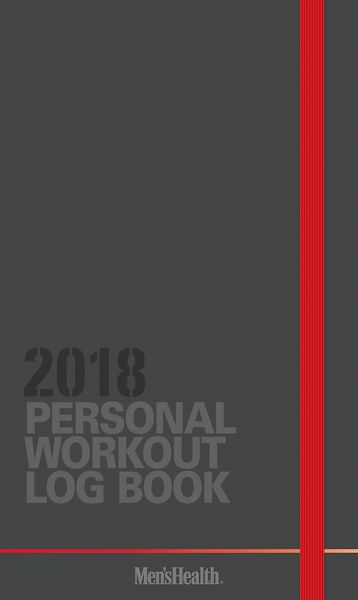 Day Dream Mens Health Workout Log 1-Year Monthly Pocket Planner - Wall Calendars