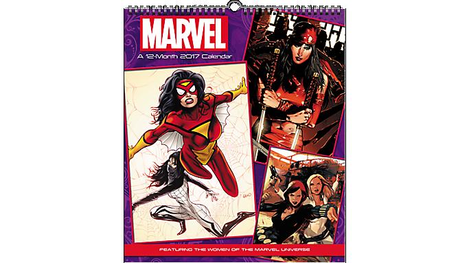 Day Dream 2017 Women of Marvel Poster Calendar - Decorative Calendars 931507