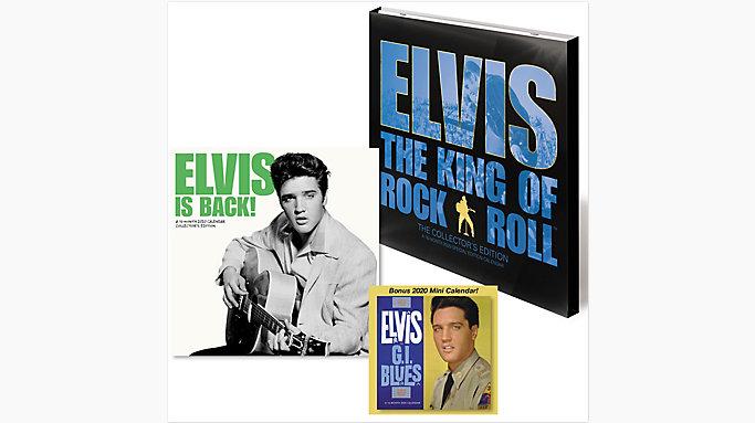 Elvis Calendar 2020 Elvis Presley 12x12 Special Edition Monthly Wall Calendar with