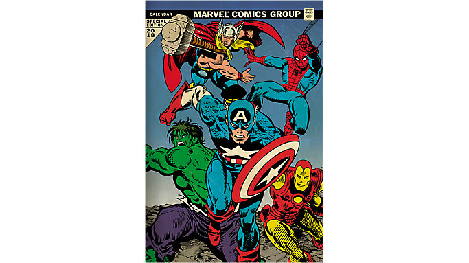 Day Dream Marvel Avengers Assemble Special Edition Wall Calendar  (DDSE36)