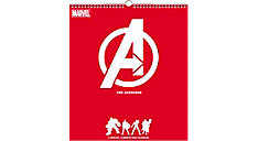 MARVELS The Avengers 13x15 Special Edition Monthly Wall Calendar (Item # DDSE36)