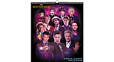 Dr. Who Take Time To Travel Wall Calendar (Item # DDSE65)