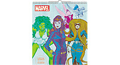 MARVELS HERoes 13x15 Special Edition Monthly Wall Calendar (Item # DDSE96)