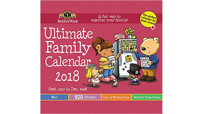 Day Dream MotherWord Tabbed Wall Calendar  (DDTB11)