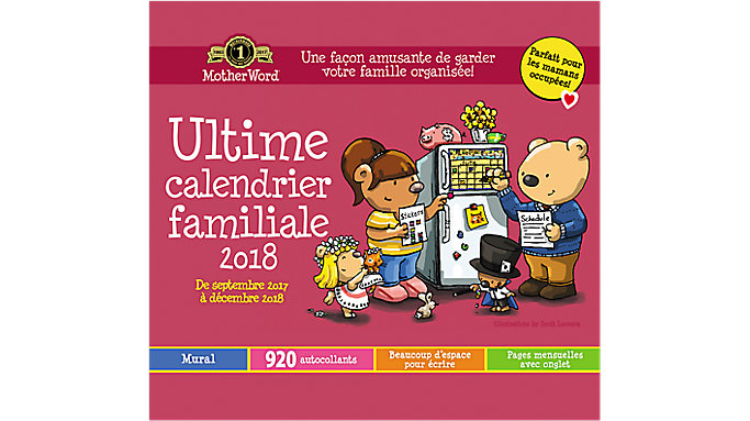 Day Dream MotherWord Calendrier Ultime Pour Maman  (DDTF11)