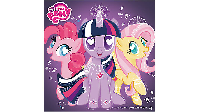 Day Dream My Little Pony Wall Calendar  (DDW006)