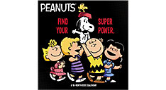 Peanuts 12x12 Monthly Wall Calendar (Item # DDW048)