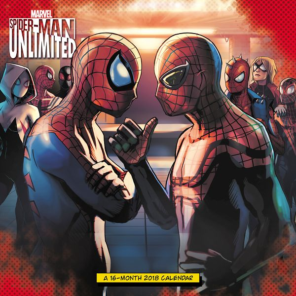 Day Dream SPIDER-MAN UNLIMITED Wall Calendar - Decorative Calendars DDW0562818