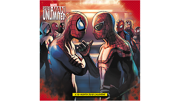 Day Dream SPIDER-MAN UNLIMITED Wall Calendar - Wall Calendars 935499