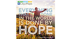 City of Hope Wall Calendar (Item # DDW125)