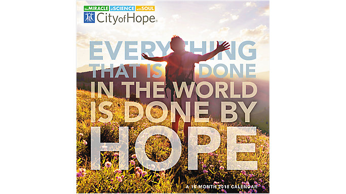 Day Dream City of Hope Wall Calendar  (DDW125)