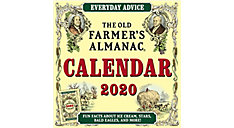 The Old Farmers Almanac 12x12 Monthly Wall Calendar (Item # DDW126)