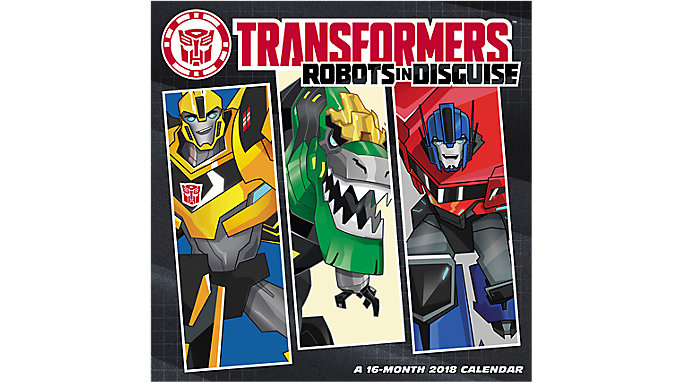 Day Dream TRANSFORMERS Robots in Disguise Wall Calendar  (DDW131)