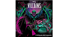 Disney Villains 12x12 Monthly Wall Calendar (Item # DDW135)