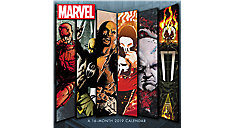 MARVEL Defenders Wall Calendar (Item # DDW138)