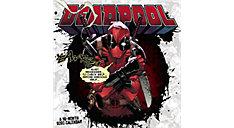 MARVELS Deadpool 12x12 Monthly Wall Calendar (Item # DDW144)