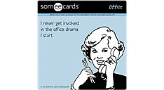 Someecards Office Wall Calendar (Item # DDW146)