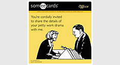 Someecards Office 12x12 Monthly Wall Calendar (Item # DDW146)