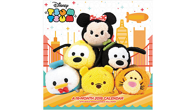 Day Dream Tsum Tsum Wall Calendar  (DDW156)