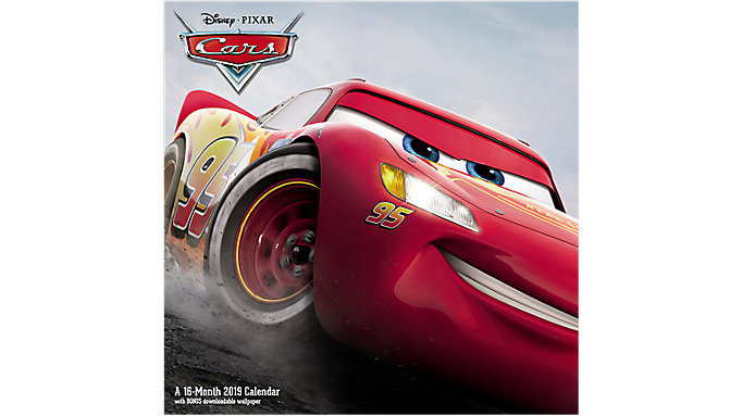 Day Dream Disney Pixar Cars Wall Calendar  (DDW163)