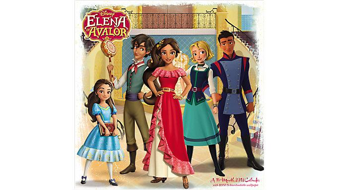 Day Dream Disney Elena of Avalor Wall Calendar  (DDW164)