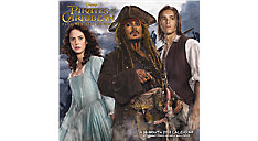 Pirates of the Caribbean Dead Men Tell No Tales Wall Calendar (Item # DDW167)