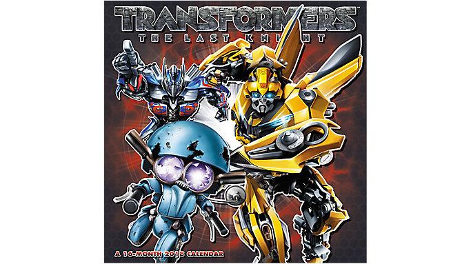 Day Dream Transformers The Last Knight Wall Calendar  (DDW169)