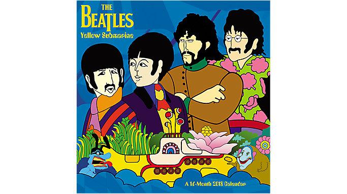 Day Dream Beatles Yellow Submarine Wall Calendar  (DDW182)