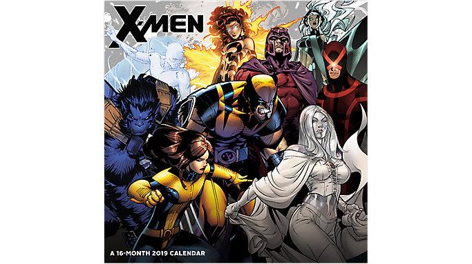 Day Dream X-Men Wall Calendar  (DDW185)