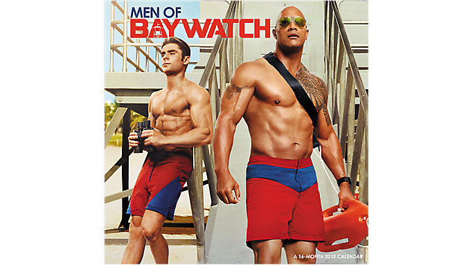 Day Dream Men of Baywatch Wall Calendar  (DDW192)