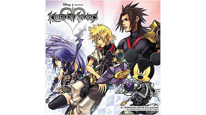 Day Dream Kingdom Hearts Wall Calendar  (DDW200)