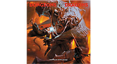 Dungeons & Dragons Wall Calendar (Item # DDW216)