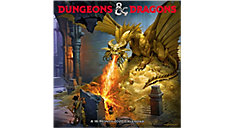 Dungeons and Dragons 12x12 Monthly Wall Calendar (Item # DDW216)