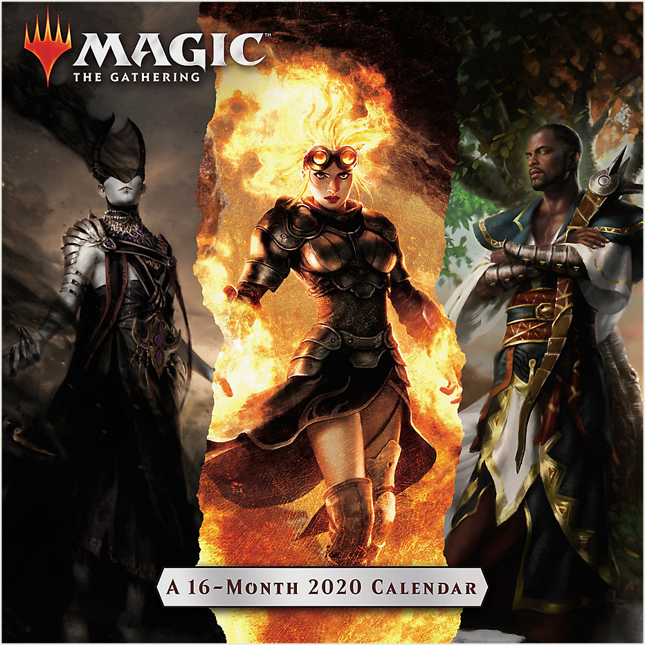 Mead Magic The Gathering 12x12 Monthly Wall Calendar