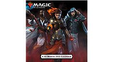 Magic The Gathering 12x12 Monthly Wall Calendar (Item # DDW217)